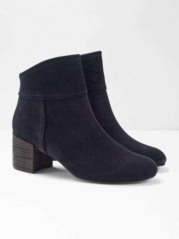 White Stuff Bree Block Heel Ankle Boot