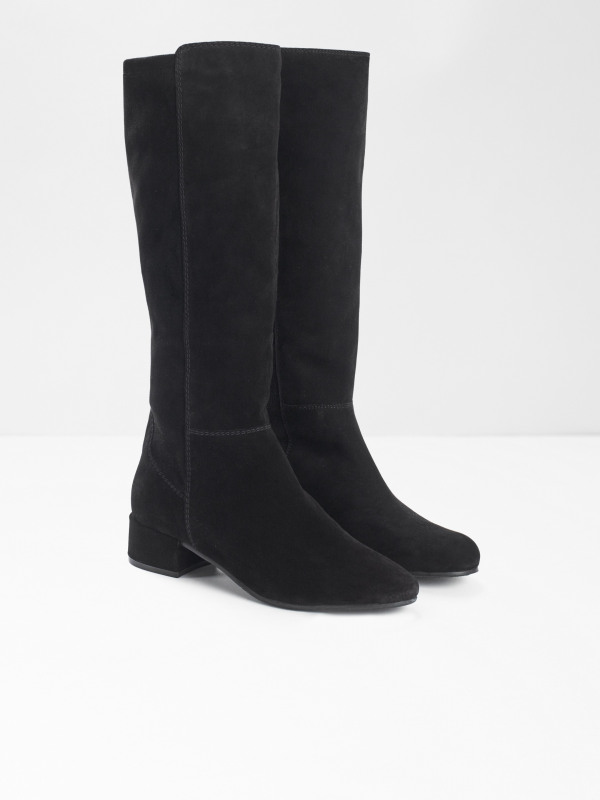 White Stuff Eva Elastic Knee Boot