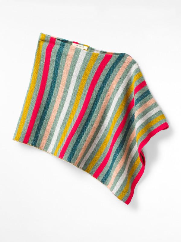 White Stuff Mini Marlow Knitted Poncho