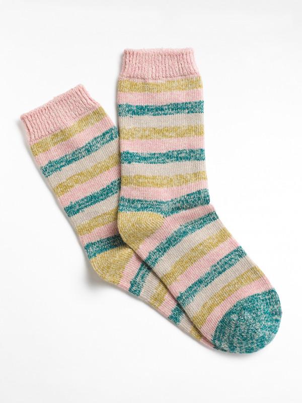 White Stuff Spacey Stripe Boot Sock