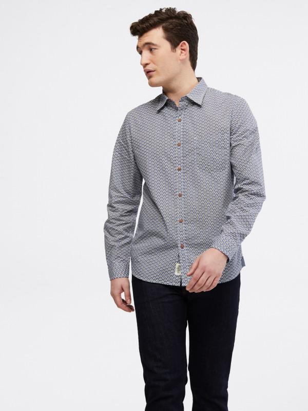 White Stuff Patterson Sprig Geo Shirt