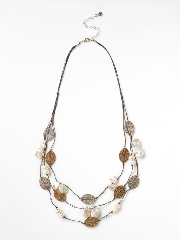 White Stuff Fresh Water Pearl Necklace