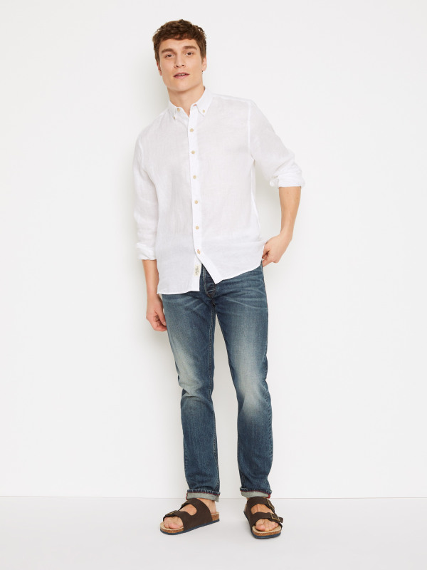 White Stuff Quayside Linen Shirt