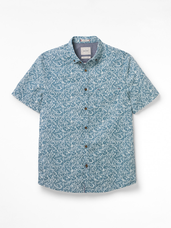 White Stuff Ardglass Print Shirt