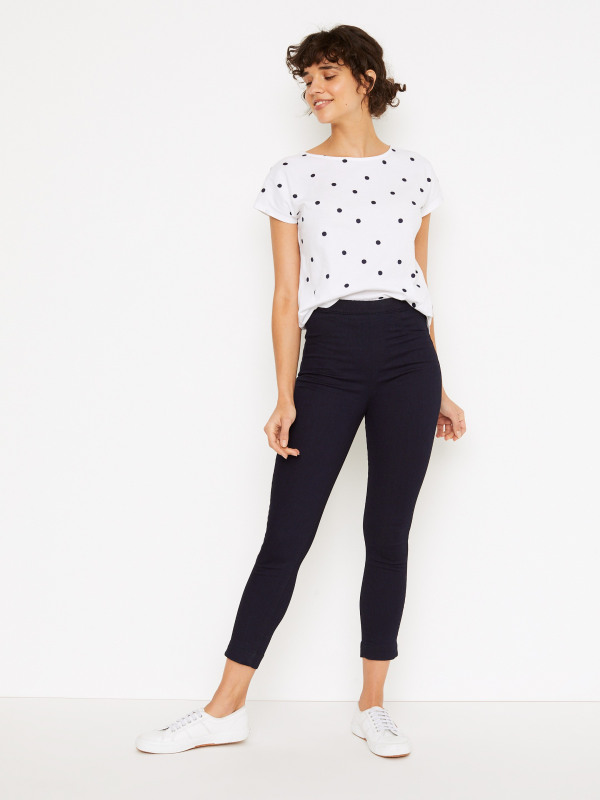 White Stuff Jade Jegging Crop