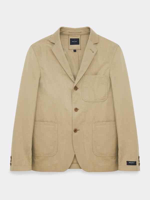 White Stuff Fyn Cotton Linen Blazer