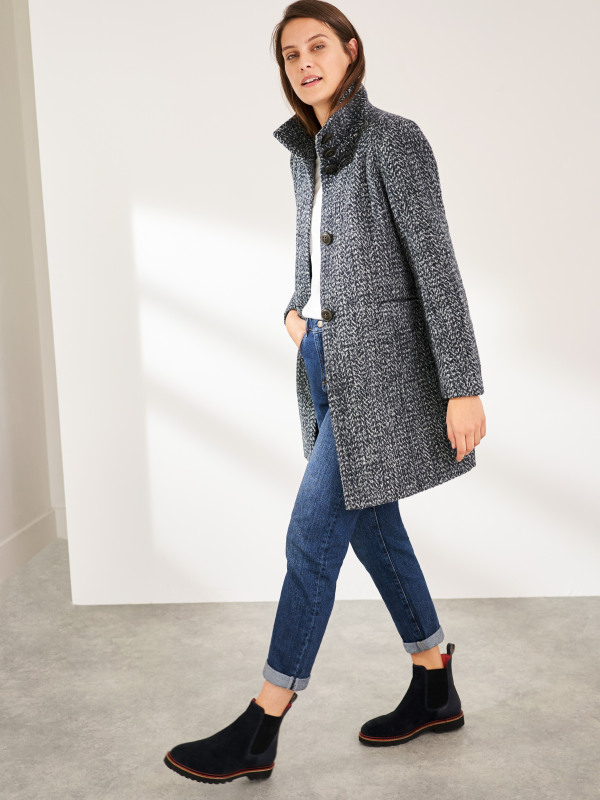 White Stuff Kenley Wool Coat