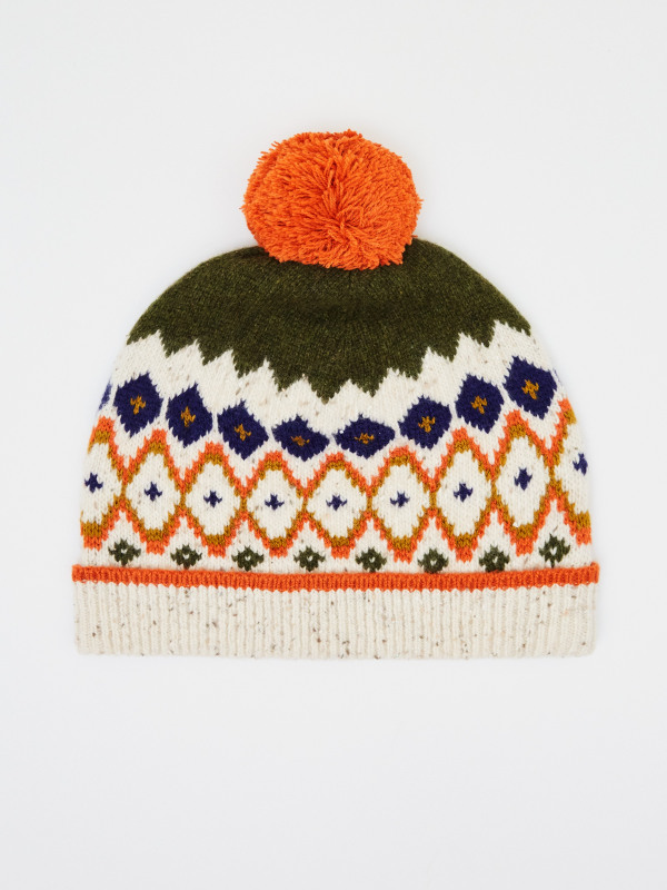White Stuff Kids Forest Fairisle Hat