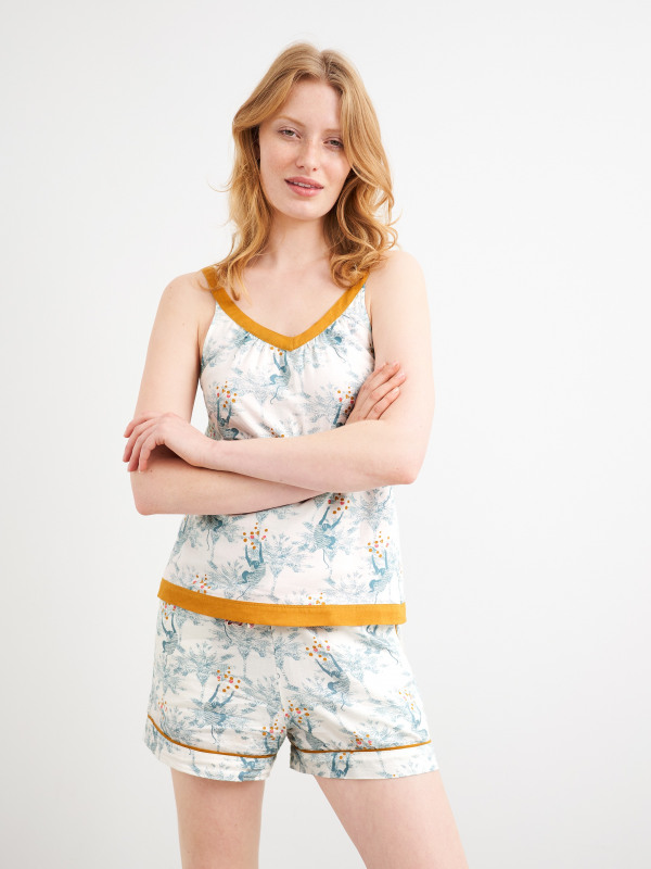 White Stuff Ronnie Reversible Woven Cami