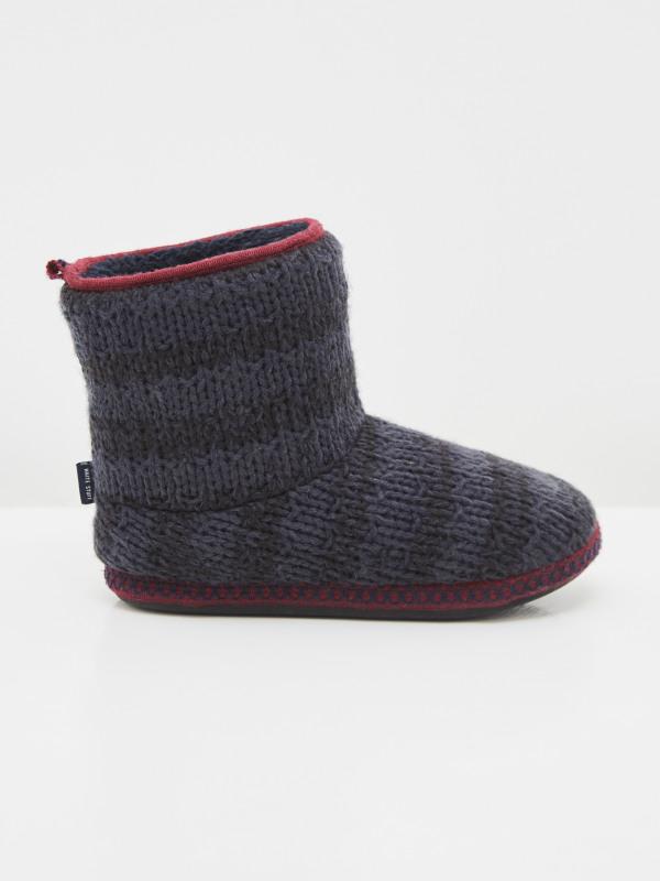 White Stuff Knitted Slipper Boot