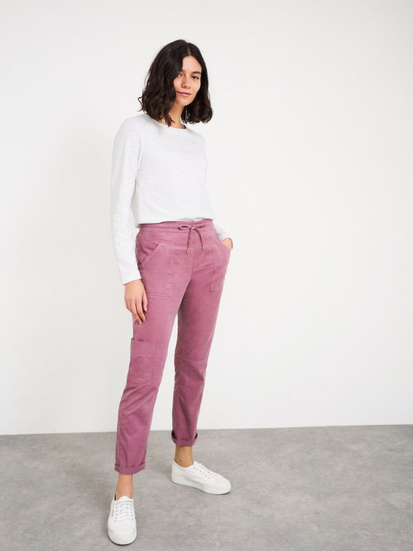 White Stuff Cord Utility Trouser