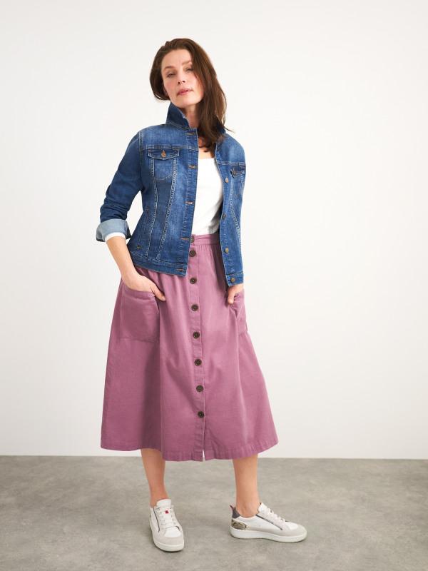 White Stuff Margarita Cord Skirt