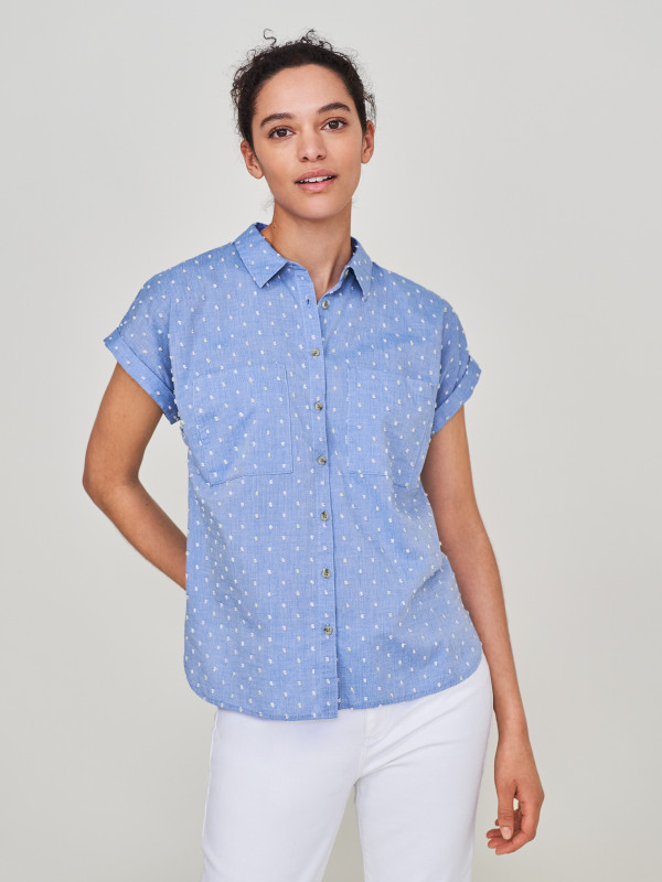 White Stuff Elmer Organic Shirt