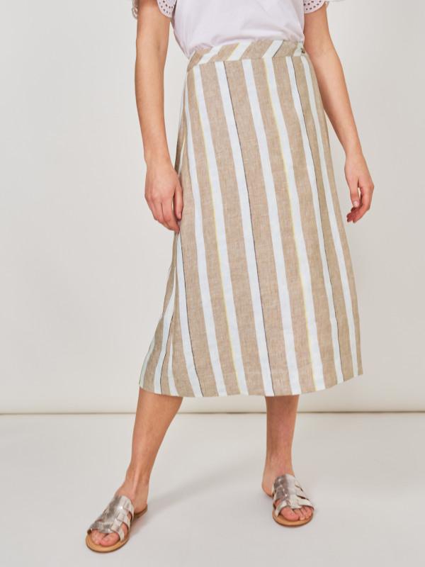 White Stuff Bella Reversible Wrap Skirt