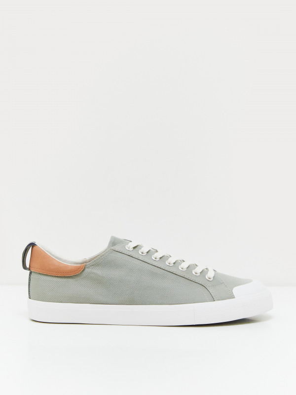 White Stuff Canvas Lace Up Trainer