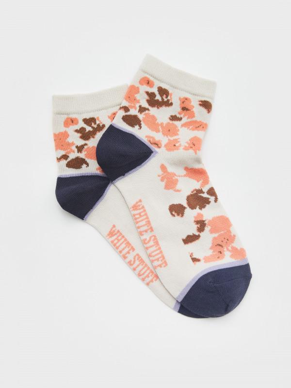 White Stuff Barbara Abstract Midi Sock