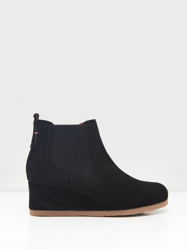 White Stuff Issy Suede Wedge Boot