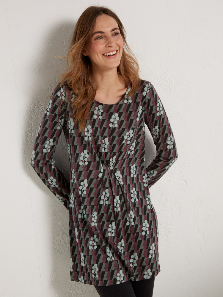 Marlow Tuck Front Jersey Tunic