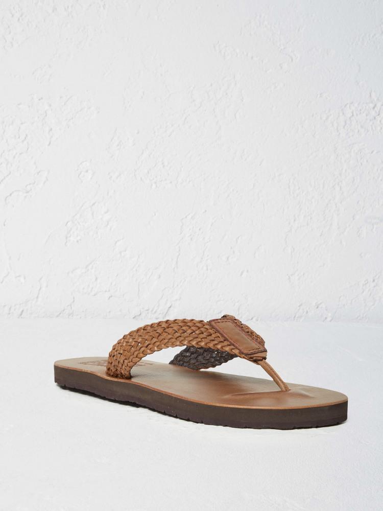 Leather Flip Flop