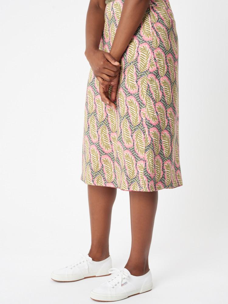 Kora Reversible Long Skirt