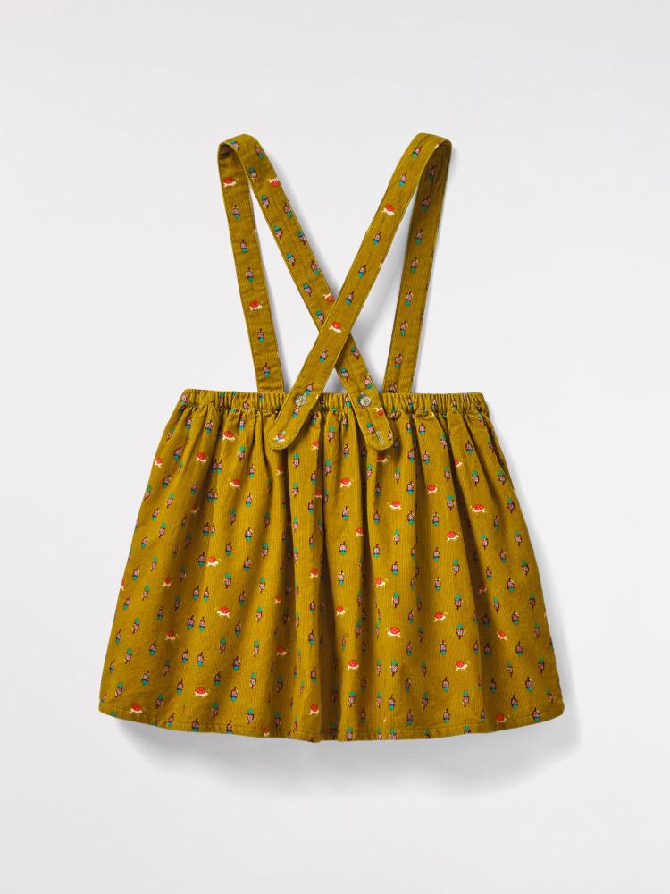 Dotty Ladybird Cord Skirt