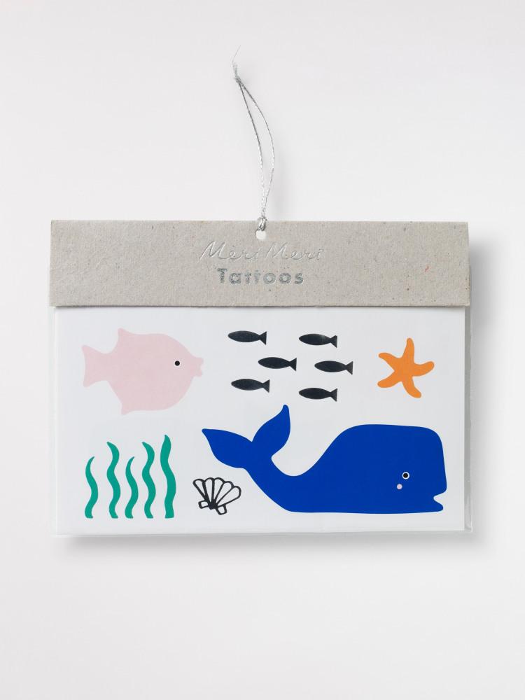 Under The Sea Tattoos