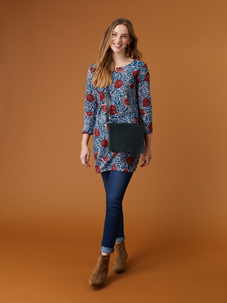 Leanne Printed Jersey Tunic