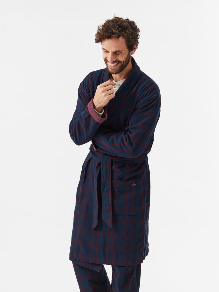 Jebel Check Robe