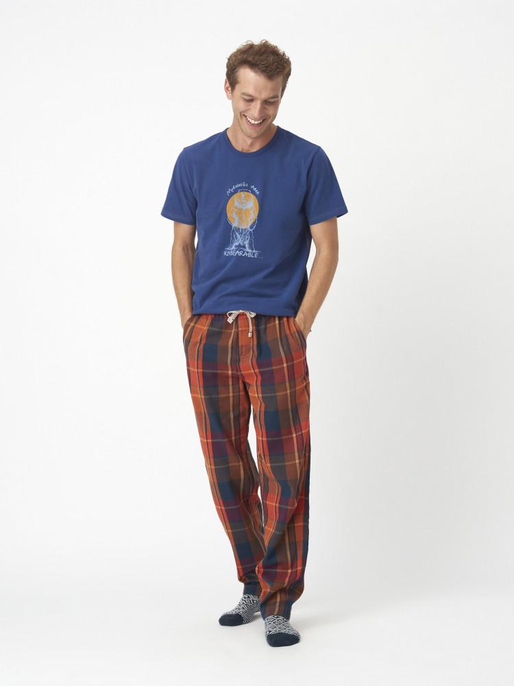 Billow Check Lounge Pant