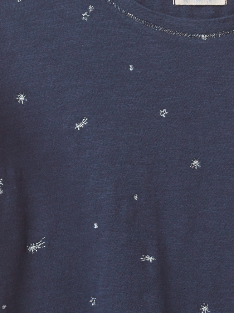 Casual Star Jersey Tee