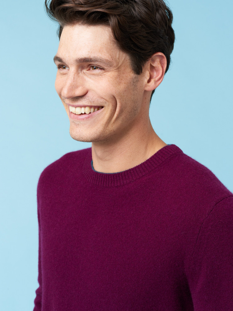 Whidbey Cashmere Crew Neck