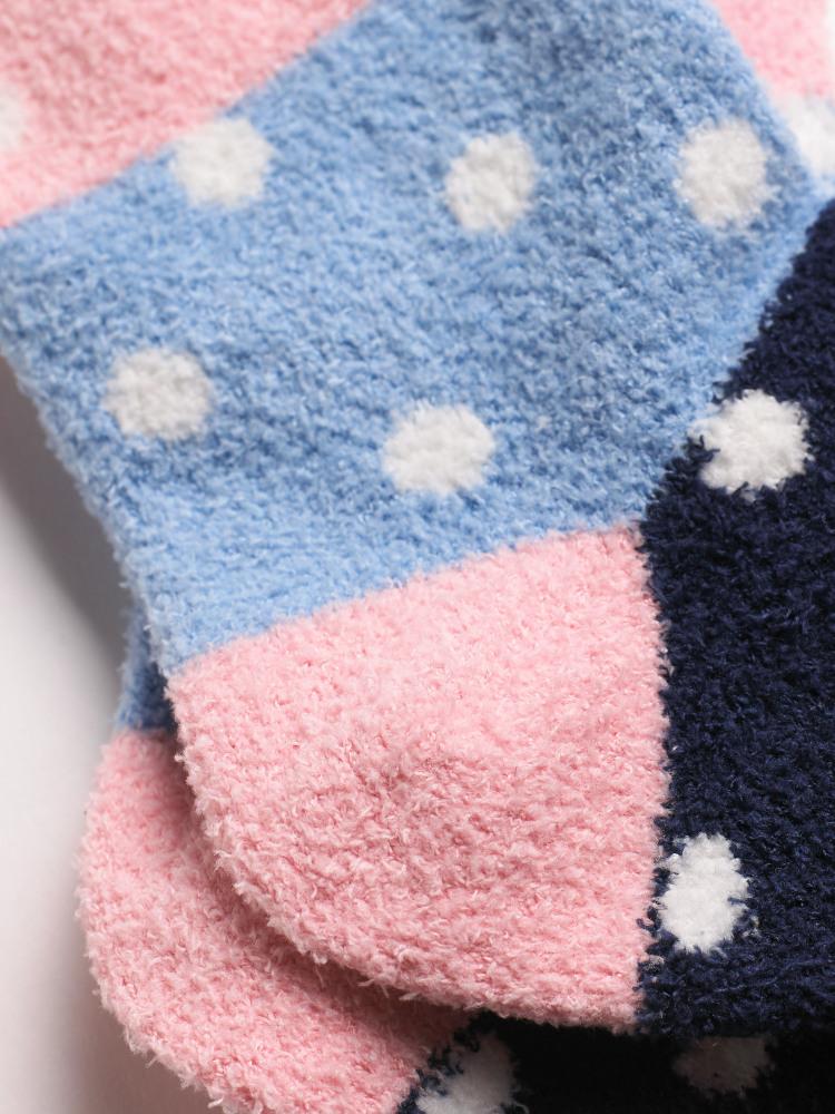 Kids Spot Sponge Sock