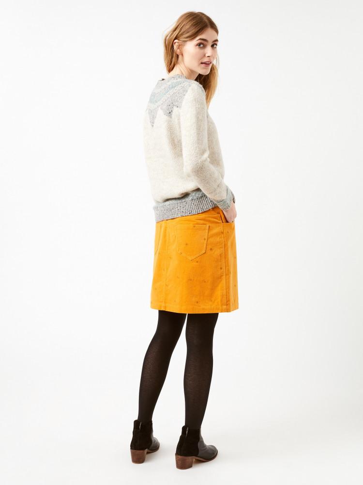 Starry Night Velvet Skirt