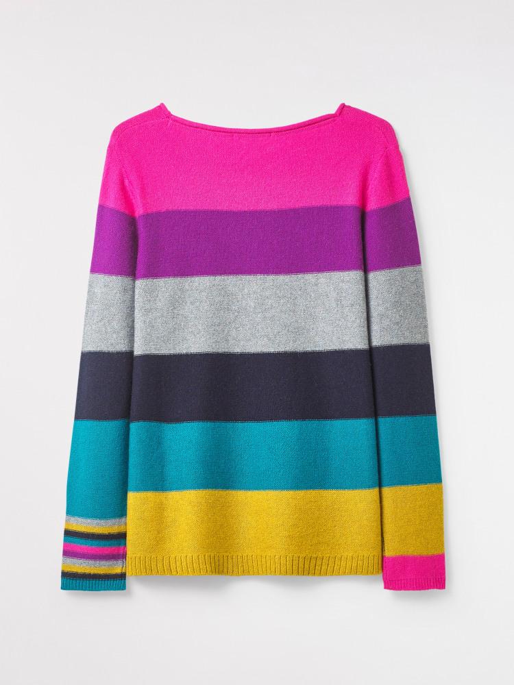Rainbow Stripe Jumper