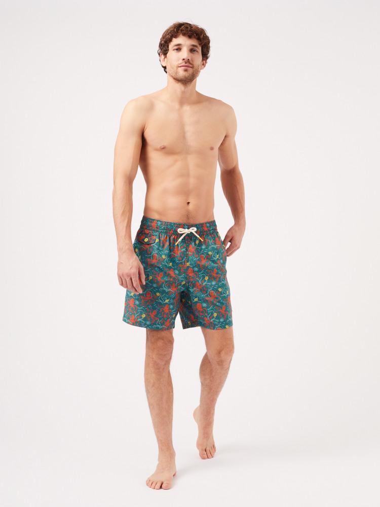 Octo Print Swim Short