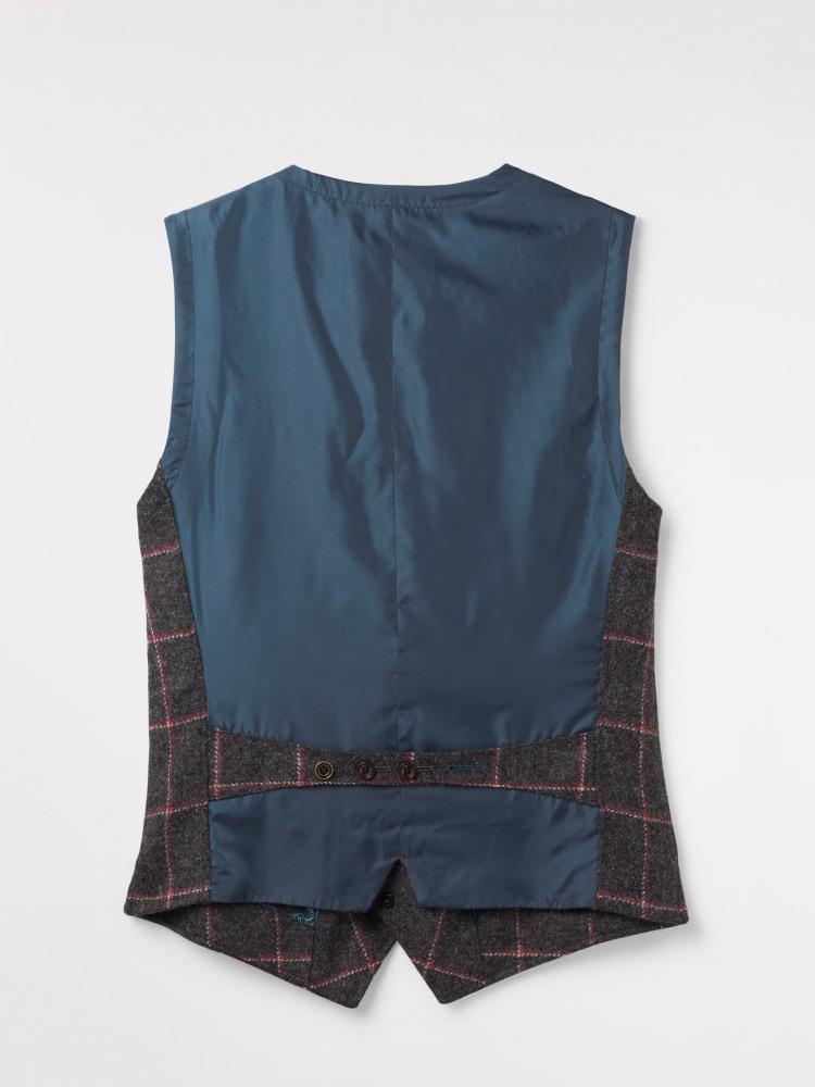 Kennington Check Waistcoat