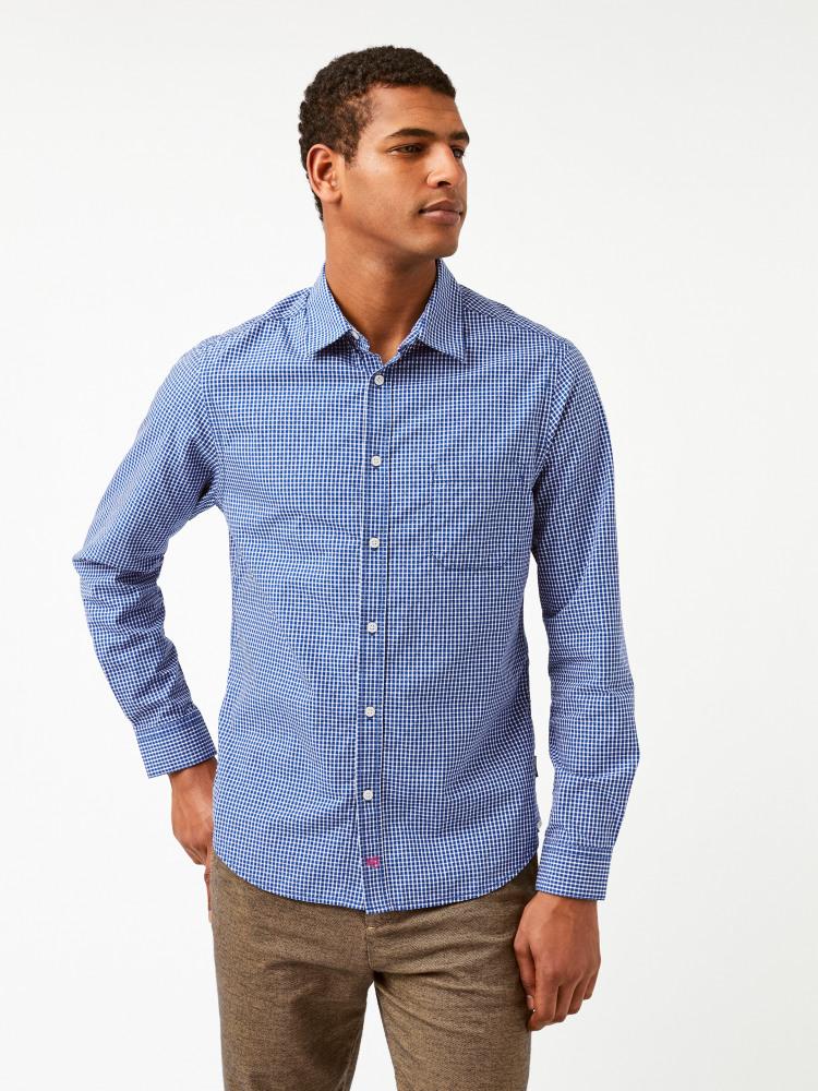 Any-wear Check Shirt