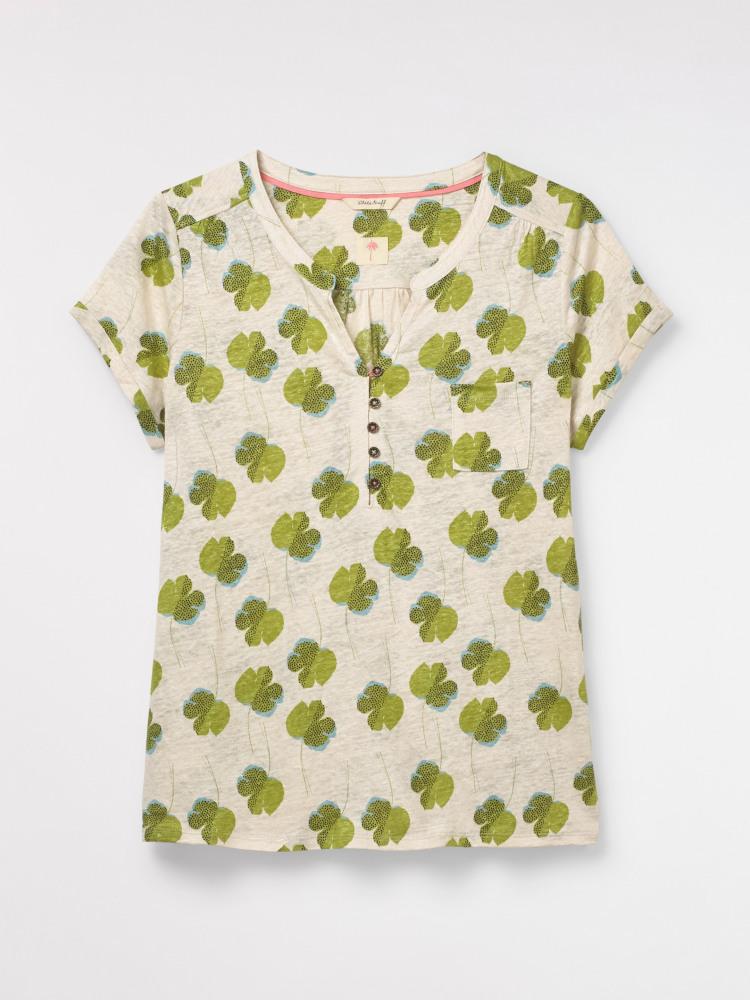 Silence Leaf Jersey Shirt