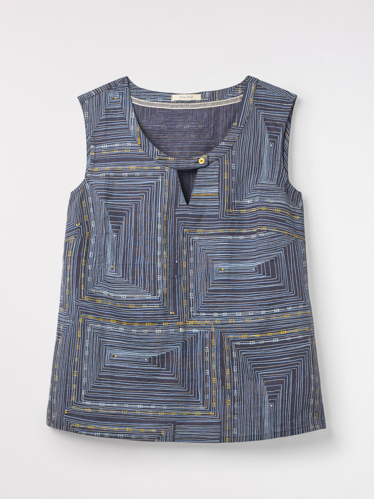 Pathways Linen Vest