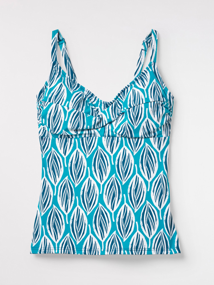 Lily Leaf Tankini Top