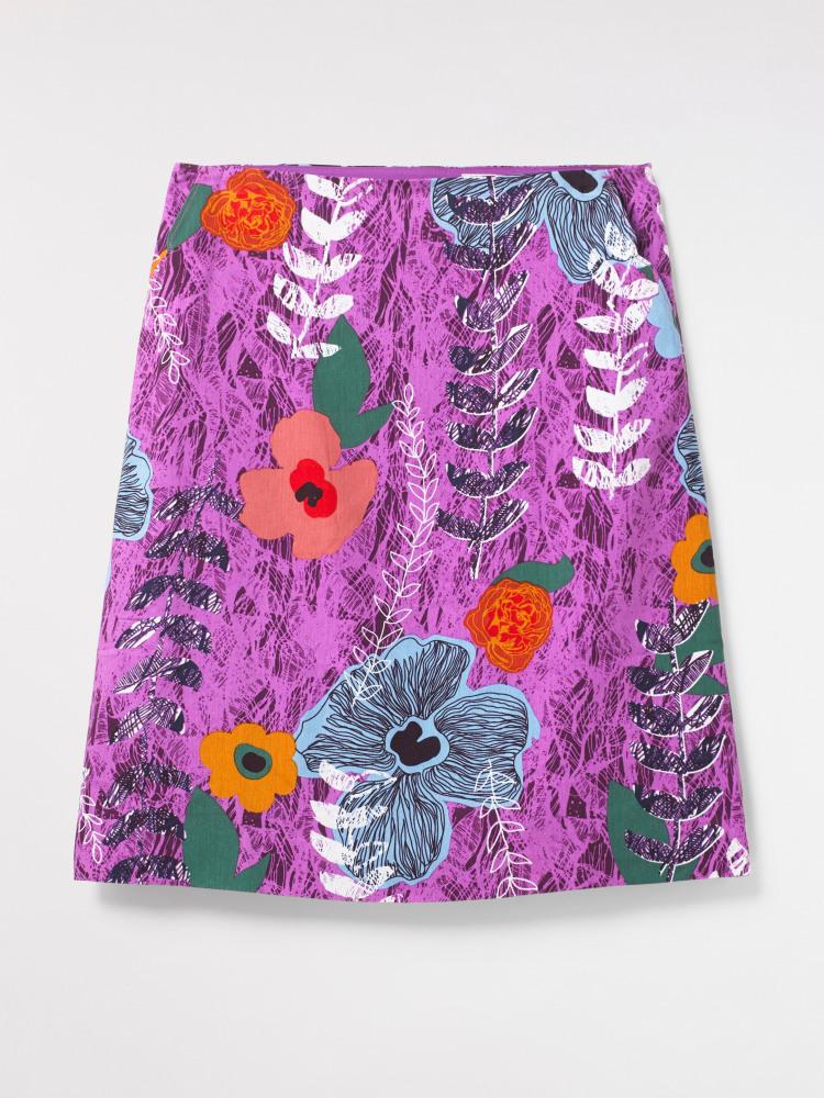 Buttercup Linen Mix Skirt
