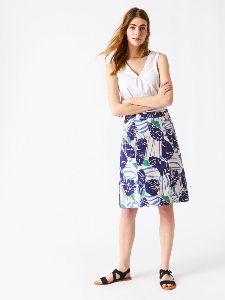 Julip Linen Skirt