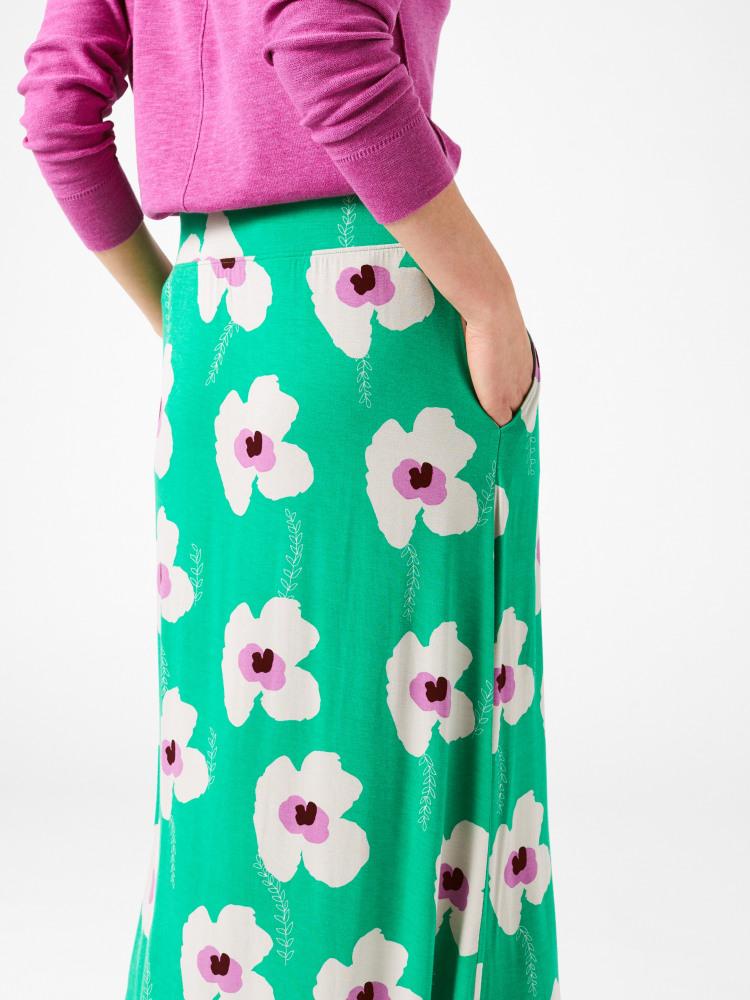 Jasmine Jersey Maxi Skirt