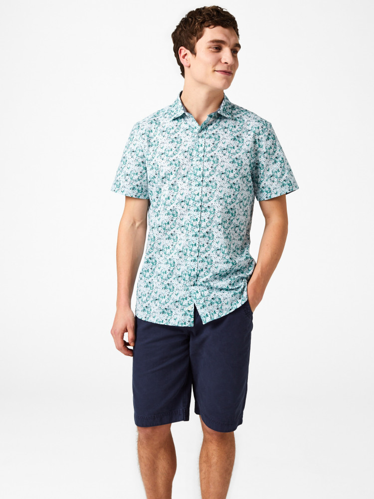Yarrow Ditsy Print Shirt