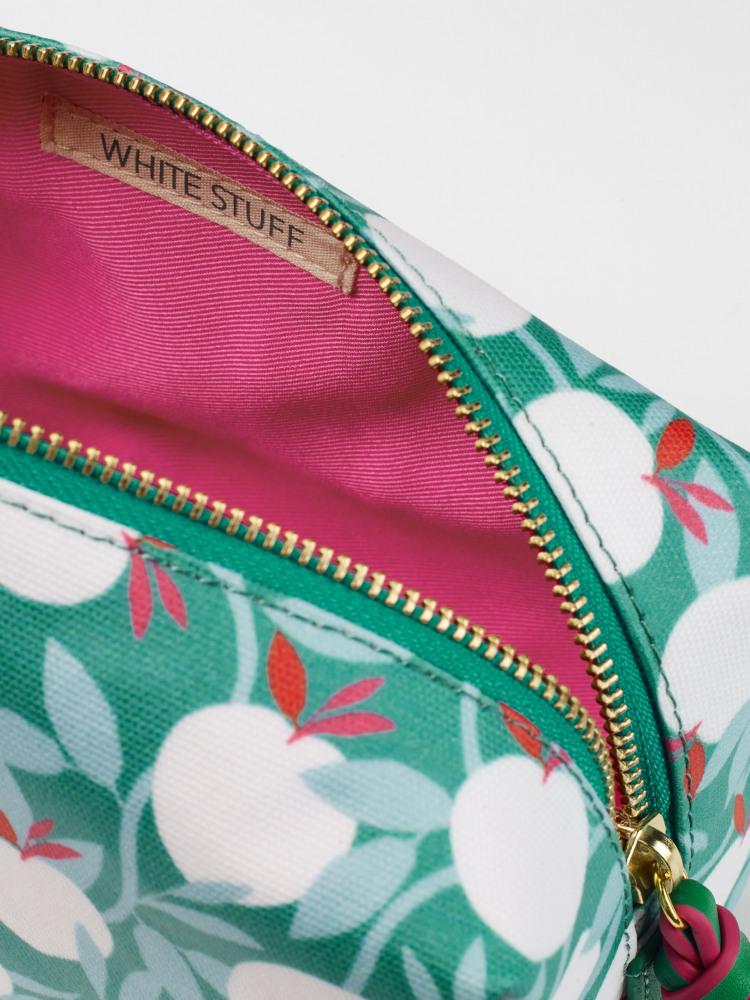 Apple Tree Square Make Up Bag