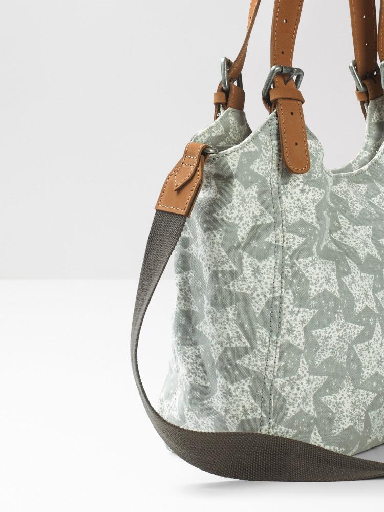 Bailey Zip Canvas Star Bag