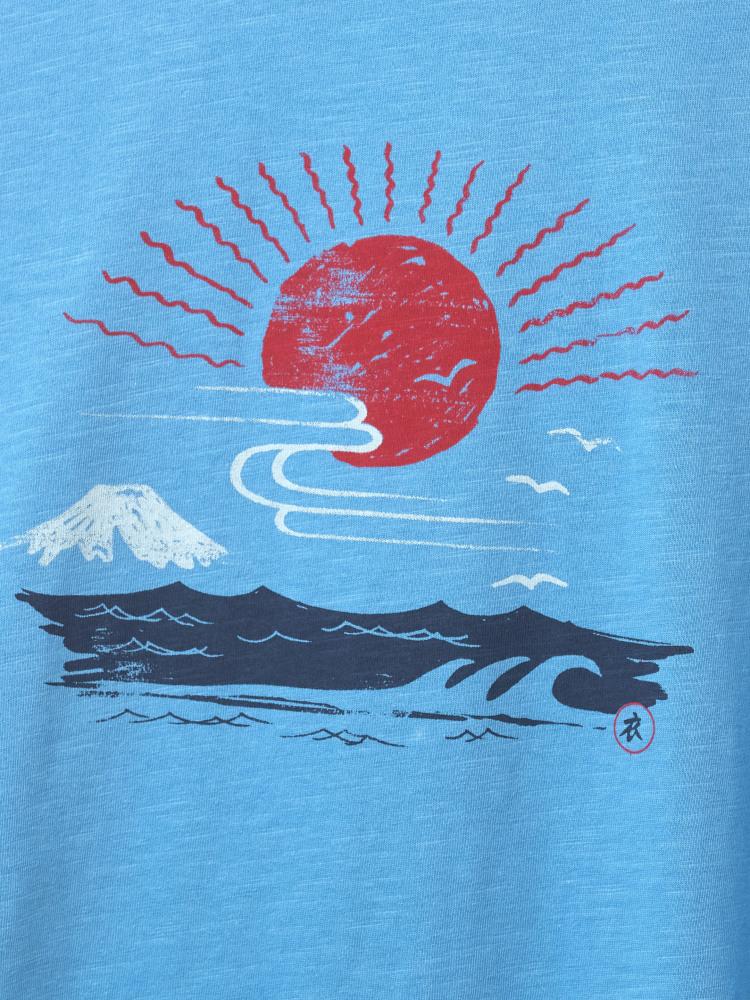 Japanese Sunset Graphic Tee