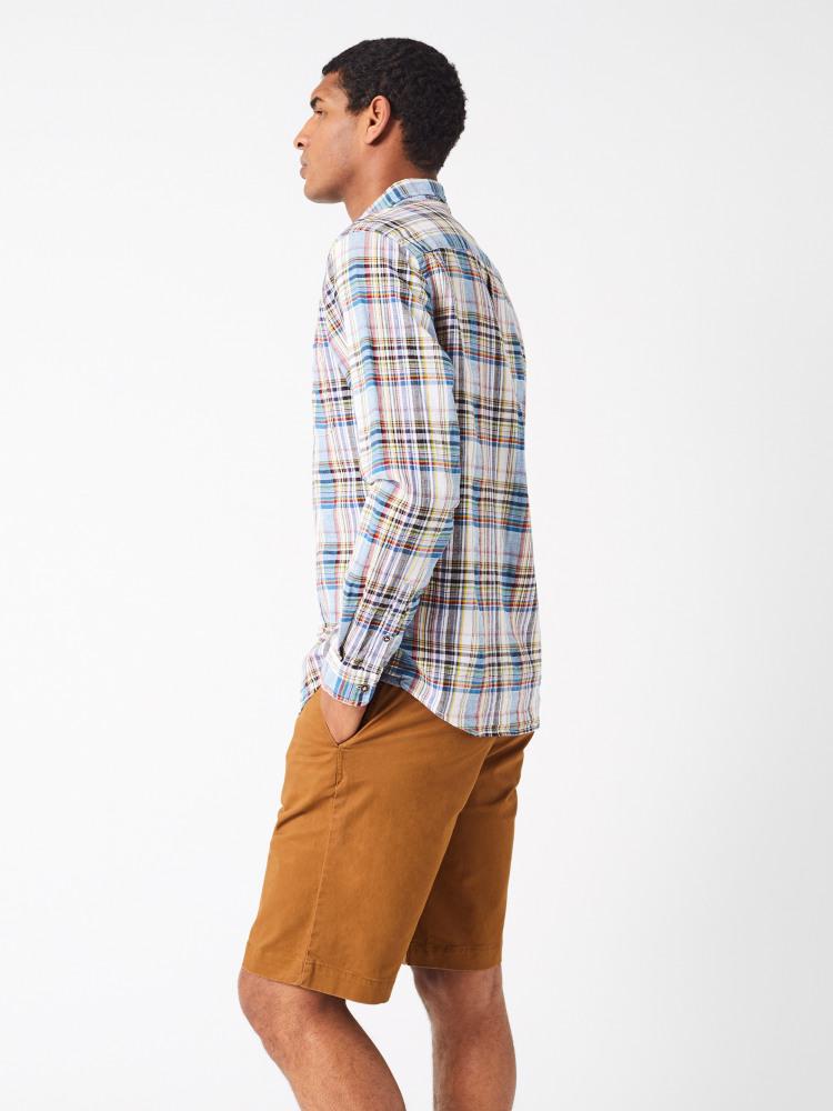 Akasia Textured Check Shirt