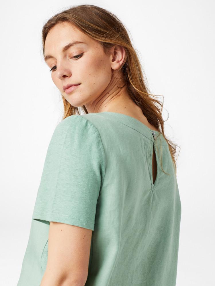 Koi Linen Top