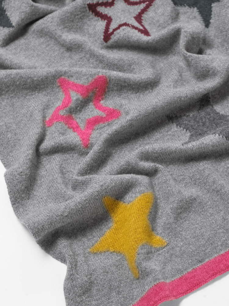 Paper Stars Scarf